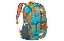 The North Face Happy Camper safety orange plaid